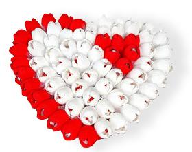 L002.108 Букет из конфет Сердечное признание