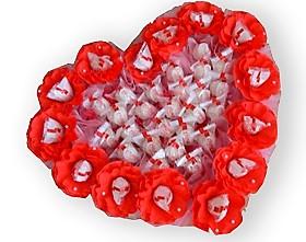 L002.110 Букет из конфет Пылкие чувства