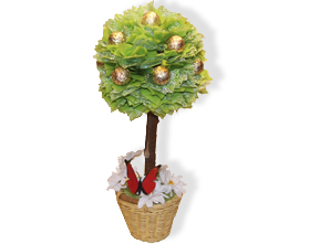 L002.20 Праздничный букет из конфет «Волшебное дерево»