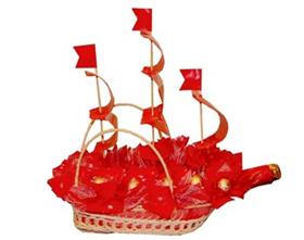 L002.23 Праздничный букет из конфет «К победе»