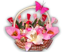 L002.56 Сладкий букет из конфет Ранняя весна