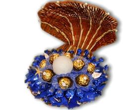 L002.64 Букет из конфет ракушка Морская