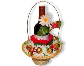 L002.69 Праздничный букет из конфет Ромашки